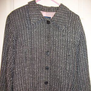 Pennington Black & White Jacket Size 20